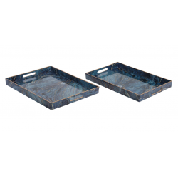 Vassoio Blue Marble 4388V